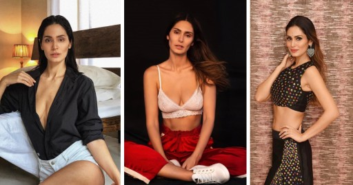 Bruna Abdullah's bold and sensual look